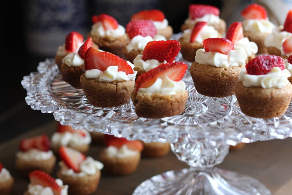 Varieties Of A Strawberry Cake